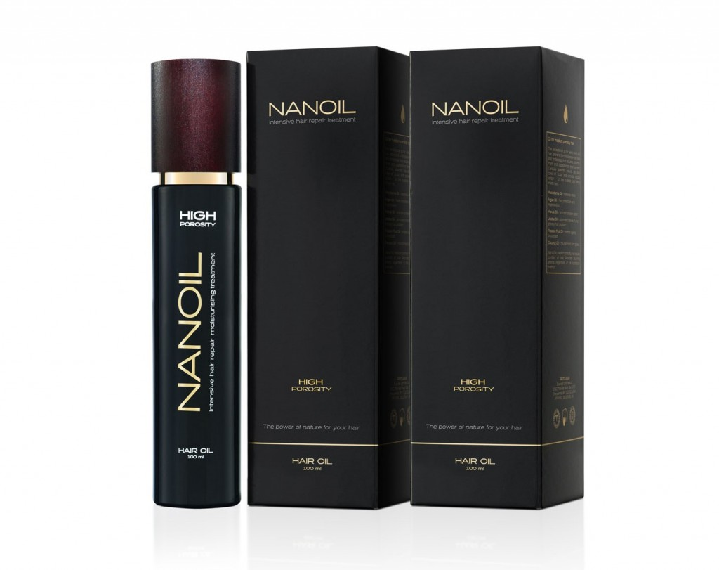 Nanoil das effektive Haaröl